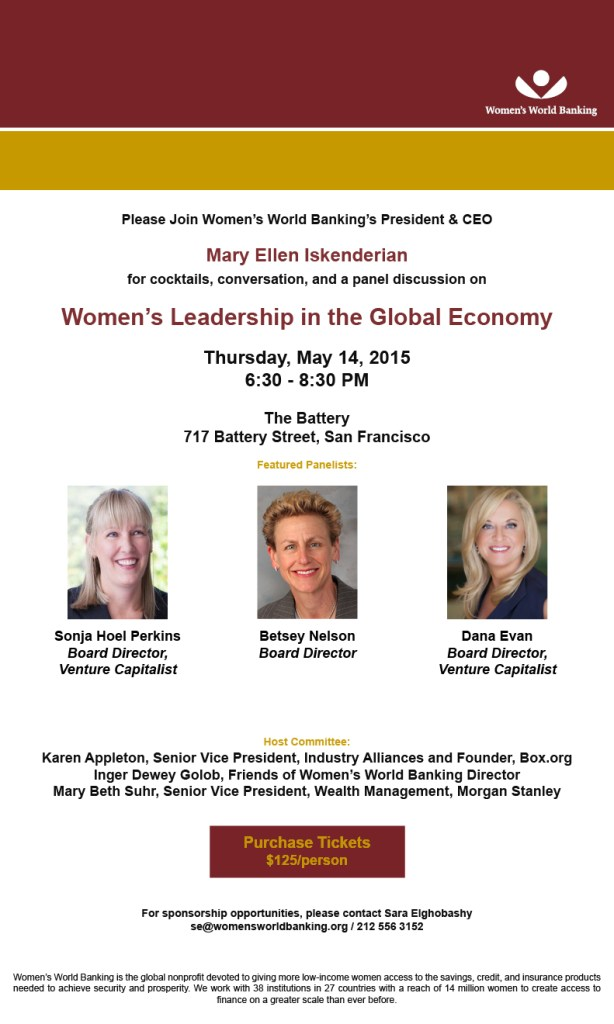 Cocktails and Conversation: Women's Leadership in the Global