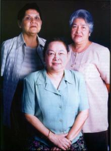 The founding leaders of NWTF, Suzzette Gaston, Corazon Henares and Dr. Cecilia del Castillo