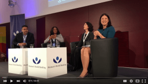 Who Are the Game Changers in Financial Inclusion? (Making Finance Work for Women, November 11-12, 2015)