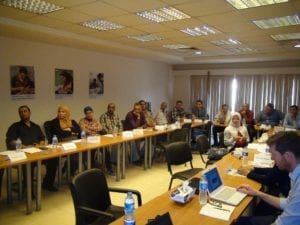 A training session at Lead Foundation (Egypt)