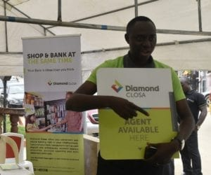 Kayode Olubiyi at the Diamond Closa launch