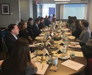 Roundtable participants discuss digital financial services for women