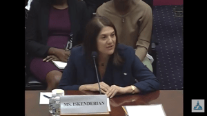 "Mary Ellen Iskenderian testifying at House Committee on Foreign Affairs Hearing: ""Beyond Microfinance: Empowering Women in the Developing World"" (July 12, 2017 at 10:00AM)"