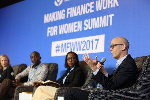 Michael Elliot of Mastercard Labs at Making Finance Work for Women 2017