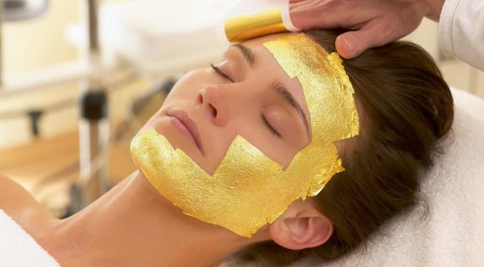 Gold based beauty treatments