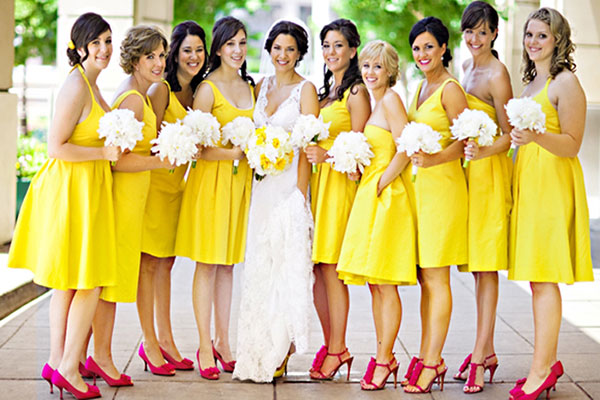 How to dress the best as bride's maid?