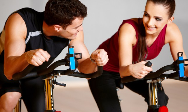 Working out with your partner renews the relationship
