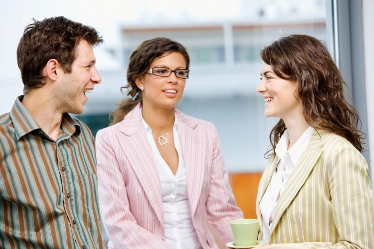 Start Interacting with new colleagues