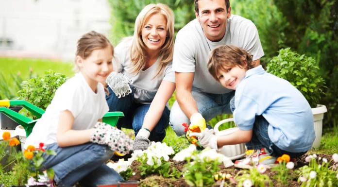 Gardening with young kids a real fun activity for them and you too