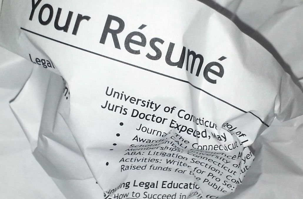 10 common yet avoidable errors your resume has