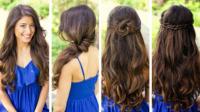 6 Pretty Hairstyles You Can Do at Home