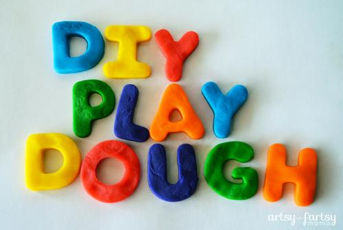 How to Make Play Dough for Your kids at Home