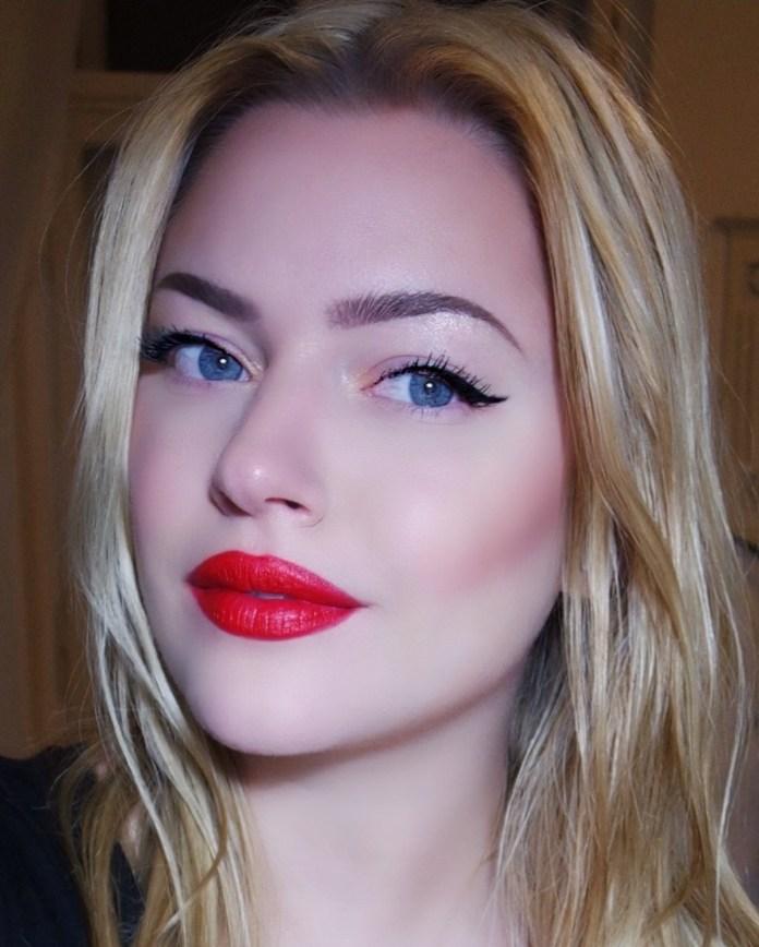 bold lip color