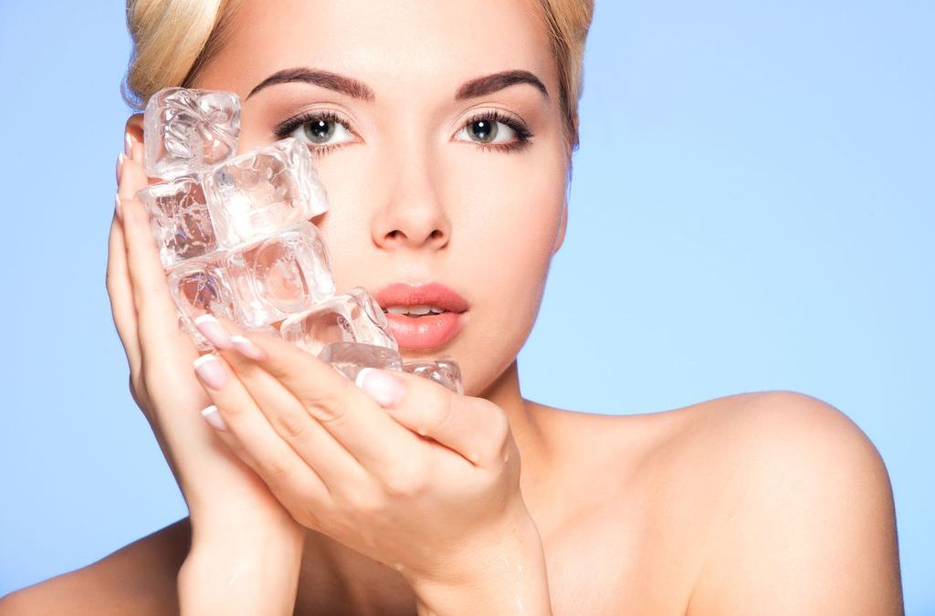 What ice cubes could do for your skin!
