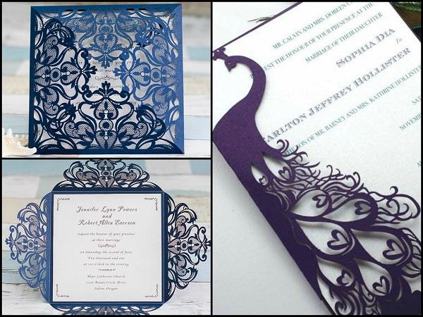 Ideas Modern Indian Wedding Invitations Beautiful And Unique Image Of Invite