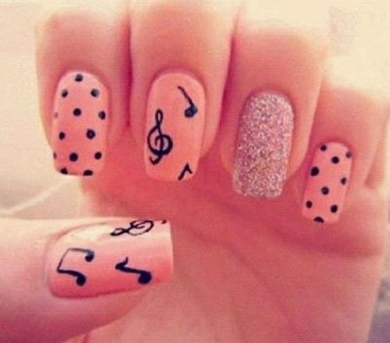 50 Diffe Polka Dots Nail Art Ideas That Anyone Can Diy Beautiful Nails Design