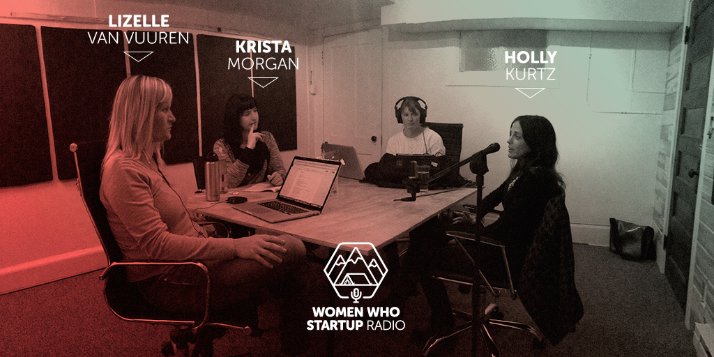 Women Who Startup Radio podcast season 2 episode 2: Talking with Creative Director Holly Kurtz about taking the leap to build a creative agency from scratch.
