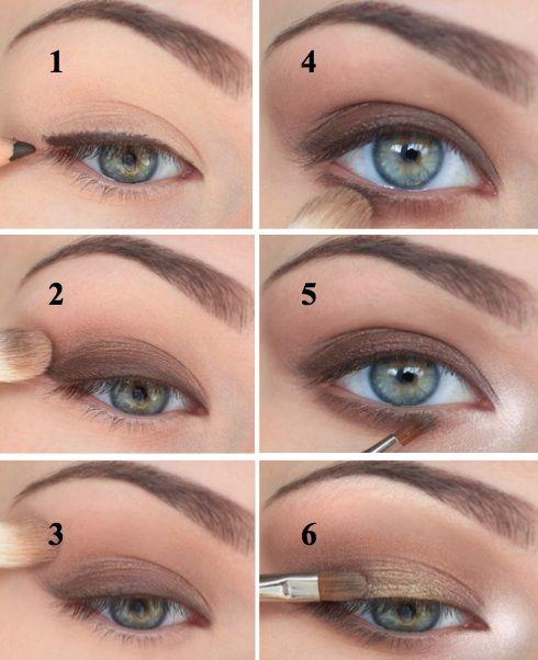 Как правильно красить глаза тенями: Фото и Видео