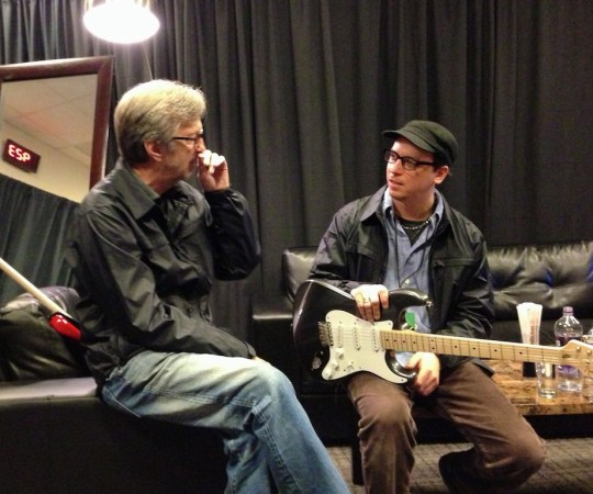 "Kurt Rosenwinkel & Eric Clapton ""Big Road Blues"""