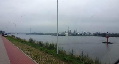 Sackgasse am Fluss Noord