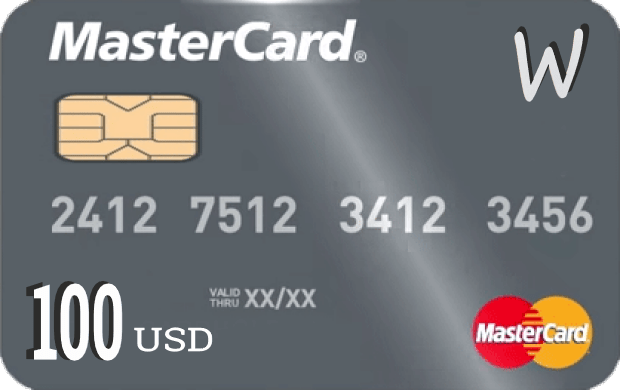 Prepaid Virtual MasterCard Instant delivery via email
