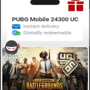 Buy PUBG Mobile 24300 UC