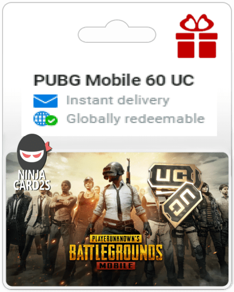 Buy PUBG Mobile 60 UC