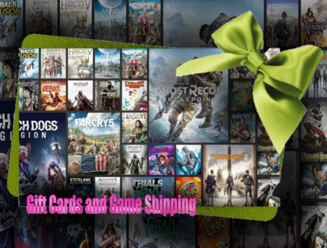 Gift Cards and Game Shipping