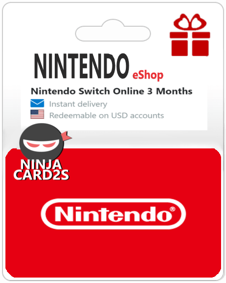 Nintendo eShop Gift Card Online FREE