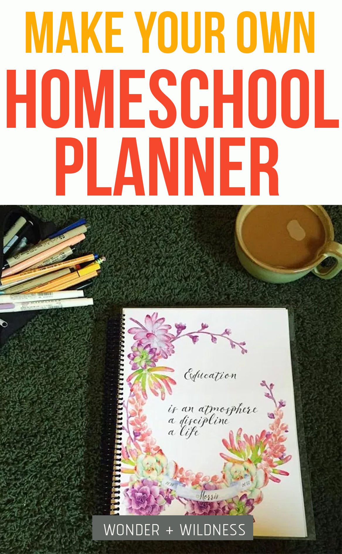 Once You Have The Homeschool Planner Pages You Want For Your Book (be Sure  To Remember To Print Double Sided!) You Can Take Them In To Your Local  Office ...