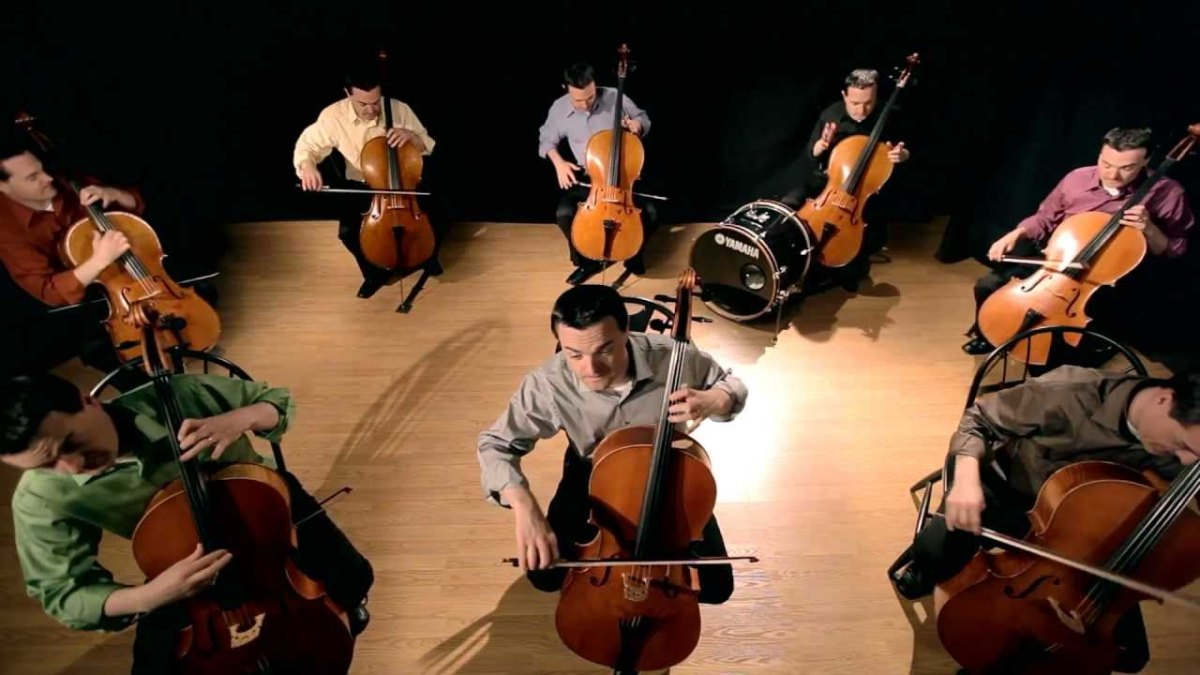The Cello Song - (Bach is back with 7 more cellos) - ThePianoGuys