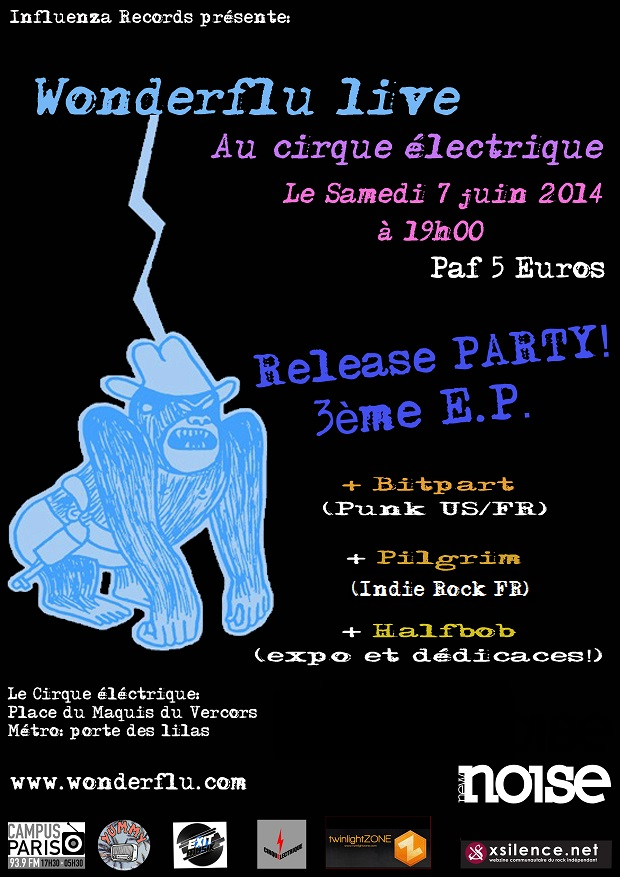 flyer Cirque Electrique