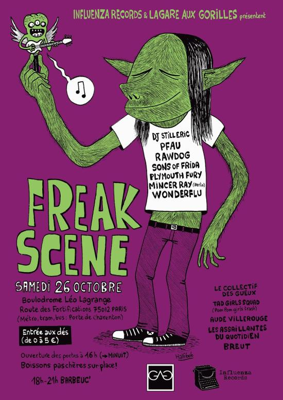 Affiche-Freak-Scene-couleur