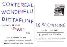 Flyer Scopitone Verso