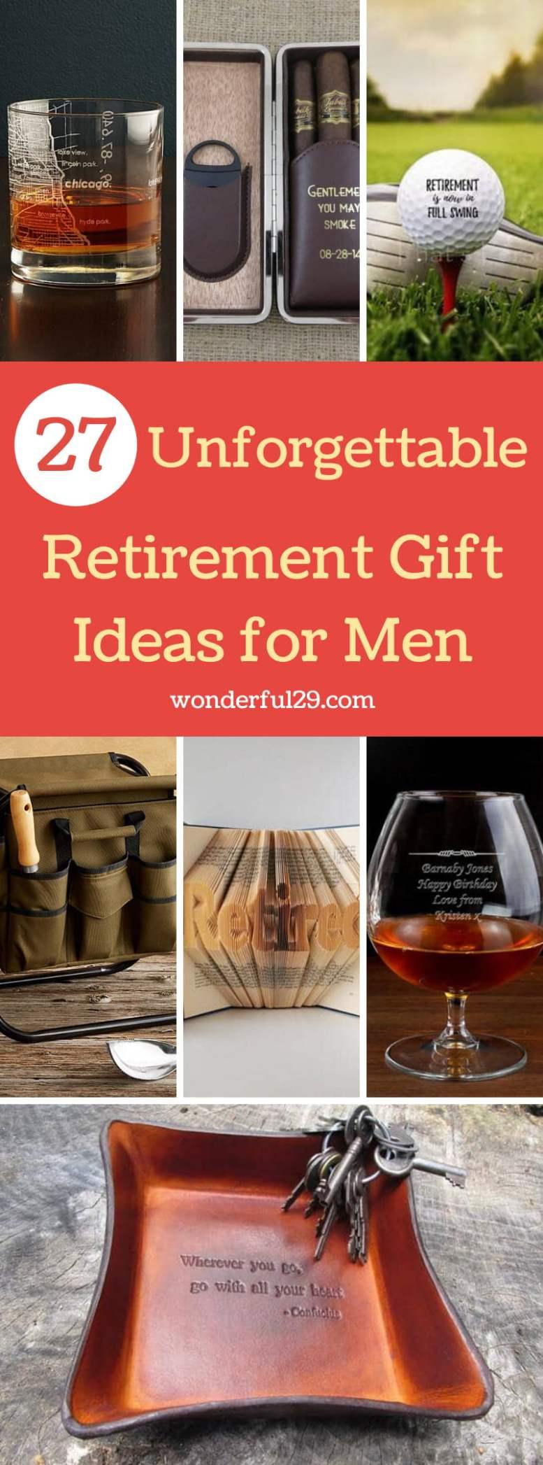 Retirement Gift Ideas for Men