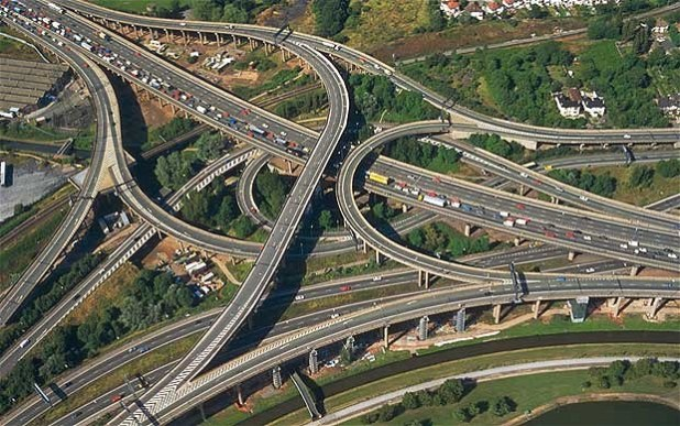 Gravelly Hill Interchange, Birmingham, UK