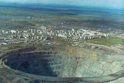 Kola Peninsula hole
