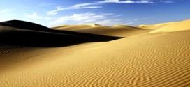 Sahara Desert size in comparative of Mojave Desert