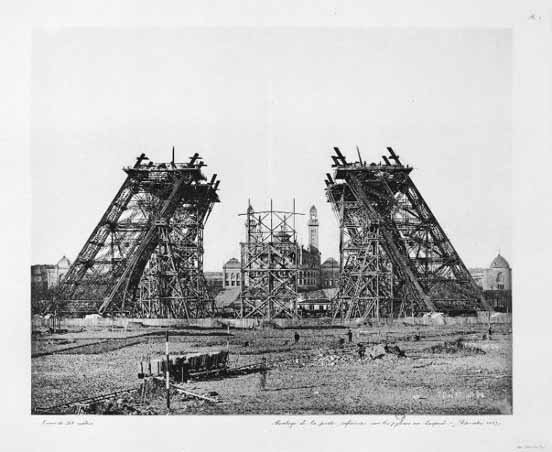 Eiffel Tower - Developing Stage 1