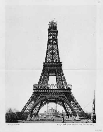 Eiffel Tower - finishing step