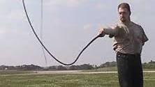 Tip of a bullwhip