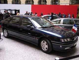 President Car France - Renault Safrane Biturbo