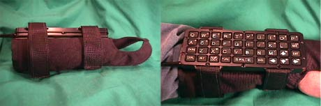 The wrist keyboard