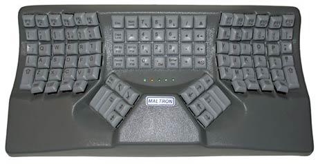 Maltron 3D Ergonomic Keyboard