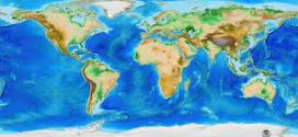 Total surface area of the Earth