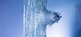 When glass breaks, the cracks move at speeds of 3,000 miles