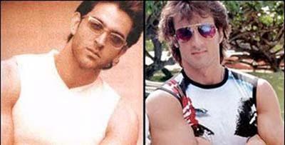 Hrithik Roshan and Sylvester Stallone