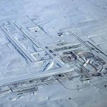 Denver International Airport after snowstorm