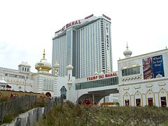 Trump Taj Mahal in Atlantic City, NJ