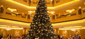World's most expensive Christmas tree in Abu Dhabi Hotel